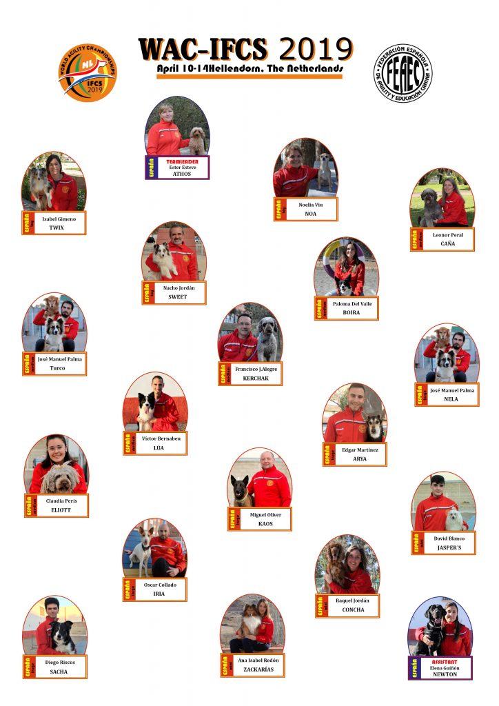 ICFS Seleccion Española 2019